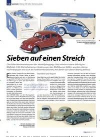 Titelbild der Ausgabe 8/2019 von 1:40 Sammeln: Wiking VW Käfer-Werbemodelle: Sieben auf einen Streich. Zeitschriften als Abo oder epaper bei United Kiosk online kaufen.