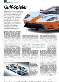 Titelbild der Ausgabe 8/2019 von 1:18 Maisto: Ford GT Gulf-Design: Gulf-Spieler. Zeitschriften als Abo oder epaper bei United Kiosk online kaufen.