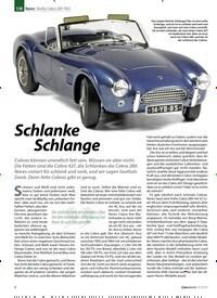Titelbild der Ausgabe 9/2019 von Norev: Shelby Cobra 289 1963: Schlanke Schlange. Zeitschriften als Abo oder epaper bei United Kiosk online kaufen.