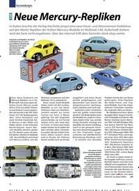 Titelbild der Ausgabe 9/2019 von Kurzmeldungen: 1:43 Neue Mercury-Repliken. Zeitschriften als Abo oder epaper bei United Kiosk online kaufen.