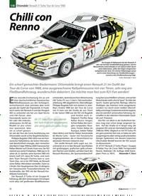 Titelbild der Ausgabe 9/2019 von 1:18 Ottomobile: Renault 21 Turbo Tour de Corse 1988: Chilli con Renno. Zeitschriften als Abo oder epaper bei United Kiosk online kaufen.
