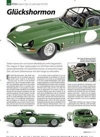 Titelbild der Ausgabe 9/2019 von 1:18 AUTOart: Jaguar E-Type 3.8 l Lightweight 1963/2015: Glückshormon. Zeitschriften als Abo oder epaper bei United Kiosk online kaufen.