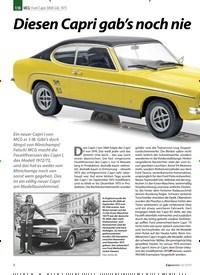 Titelbild der Ausgabe 10/2019 von MCG: Ford Capri 3000 GXL 1973: Diesen Capri gab's noch nie. Zeitschriften als Abo oder epaper bei United Kiosk online kaufen.