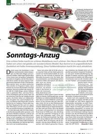 Titelbild der Ausgabe 10/2019 von Norev: Mercedes 280 SE W108 1968: Sonntags-Anzug. Zeitschriften als Abo oder epaper bei United Kiosk online kaufen.