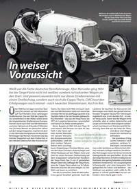 Titelbild der Ausgabe 11/2019 von CMC: Mercedes-Benz Targa Florio 1924: In weiser Voraussicht. Zeitschriften als Abo oder epaper bei United Kiosk online kaufen.