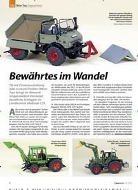 Titelbild der Ausgabe 12/2019 von 1:32: Weise Toys: Zugmaschinen: Bewährtes im Wandel. Zeitschriften als Abo oder epaper bei United Kiosk online kaufen.
