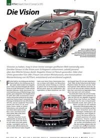 Titelbild der Ausgabe 1/2020 von AUTOart: Bugatti Vision GT Concept Car 2015: Die Vision. Zeitschriften als Abo oder epaper bei United Kiosk online kaufen.