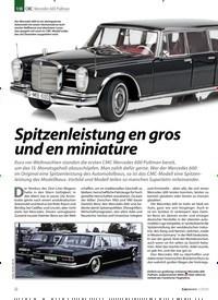 Titelbild der Ausgabe 1/2020 von CMC: Mercedes 600 Pullman: Spitzenleistung en gros und en miniature. Zeitschriften als Abo oder epaper bei United Kiosk online kaufen.