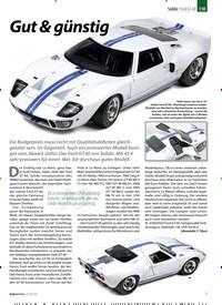 Titelbild der Ausgabe 2/2020 von Solido: Ford GT 40: Gut & günstig. Zeitschriften als Abo oder epaper bei United Kiosk online kaufen.