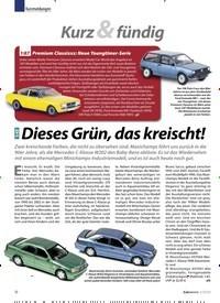Titelbild der Ausgabe 2/2020 von Kurzmeldungen: Kurz & fündig: Dieses Grün, das kreischt!. Zeitschriften als Abo oder epaper bei United Kiosk online kaufen.
