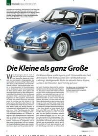 Titelbild der Ausgabe 3/2020 von Ottomobile: Alpine A110 1300 G 1971:Die Kleine als ganz Große. Zeitschriften als Abo oder epaper bei United Kiosk online kaufen.
