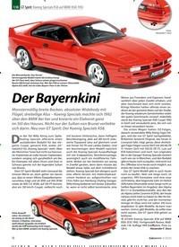 Titelbild der Ausgabe 3/2020 von GT Spirit: Koenig Specials KS8 auf BMW 850i 1992:Der Bayernkini. Zeitschriften als Abo oder epaper bei United Kiosk online kaufen.