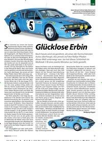 Titelbild der Ausgabe 3/2020 von Ixo: Renault Alpine A310:Glücklose Erbin. Zeitschriften als Abo oder epaper bei United Kiosk online kaufen.
