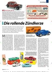 Titelbild der Ausgabe 3/2020 von Die rollende Zündkerze. Zeitschriften als Abo oder epaper bei United Kiosk online kaufen.