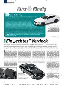 """Titelbild der Ausgabe 4/2020 von 1:43:Ein """"echtes"""" Verdeck. Zeitschriften als Abo oder epaper bei United Kiosk online kaufen."""