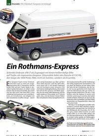 Titelbild der Ausgabe 11/2019 von 1:18 Ottomobile: VW LT Hochdach-Transporter mit Anhänger: Ein Rothmans-Express. Zeitschriften als Abo oder epaper bei United Kiosk online kaufen.