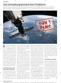 Titelbild der Ausgabe 4/2019 von INTRO NEWS: Zeit-Umstellung bereitet Navi-Probleme. Zeitschriften als Abo oder epaper bei United Kiosk online kaufen.