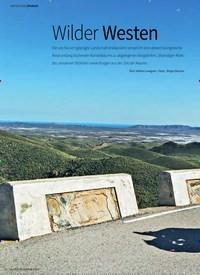 Titelbild der Ausgabe 4/2019 von REPORTAGE SPANIEN: Wilder Westen. Zeitschriften als Abo oder epaper bei United Kiosk online kaufen.