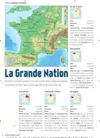 Titelbild der Ausgabe 6/2019 von FRANKREICH REGIONEN: La Grande Nation. Zeitschriften als Abo oder epaper bei United Kiosk online kaufen.