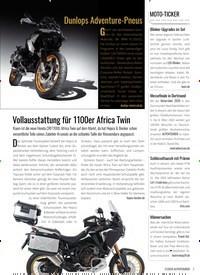 Titelbild der Ausgabe 2/2020 von Vollausstattung für 1100er Africa Twin. Zeitschriften als Abo oder epaper bei United Kiosk online kaufen.