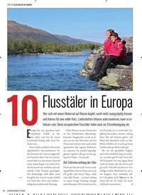 Titelbild der Ausgabe 2/2020 von 10 Flusstäler in Europa. Zeitschriften als Abo oder epaper bei United Kiosk online kaufen.