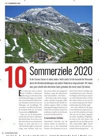 Titelbild der Ausgabe 4/2020 von 10 Sommerziele 2020. Zeitschriften als Abo oder epaper bei United Kiosk online kaufen.