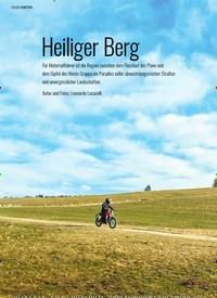 Titelbild der Ausgabe 5/2020 von Heiliger Berg. Zeitschriften als Abo oder epaper bei United Kiosk online kaufen.