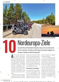Titelbild der Ausgabe 6/2020 von 10 Nordeuropa-Ziele. Zeitschriften als Abo oder epaper bei United Kiosk online kaufen.