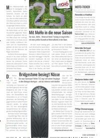 Titelbild der Ausgabe 2/2021 von Mit MoHo in die neue Saison. Zeitschriften als Abo oder epaper bei United Kiosk online kaufen.