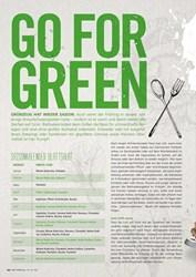 Titelbild der Ausgabe 3/2019 von GO FOR GREEEN. Zeitschriften als Abo oder epaper bei United Kiosk online kaufen.