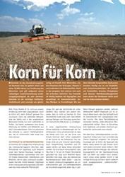Titelbild der Ausgabe 3/2019 von Korn für Korn. Zeitschriften als Abo oder epaper bei United Kiosk online kaufen.