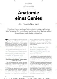 Titelbild der Ausgabe 2/2019 von Anatomie eines Genies. Zeitschriften als Abo oder epaper bei United Kiosk online kaufen.