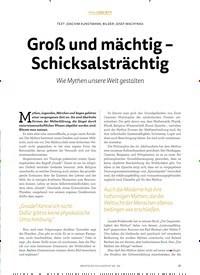 Titelbild der Ausgabe 2/2019 von Groß und mächtig – Schicksalsträchtig. Zeitschriften als Abo oder epaper bei United Kiosk online kaufen.
