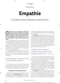 Titelbild der Ausgabe 3/2019 von Empathie. Zeitschriften als Abo oder epaper bei United Kiosk online kaufen.