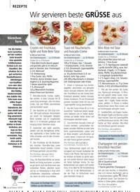 Titelbild der Ausgabe 13/2018 von REZEPTE: Wir servieren beste GRÜSSE aus der Festtagsküche. Zeitschriften als Abo oder epaper bei United Kiosk online kaufen.