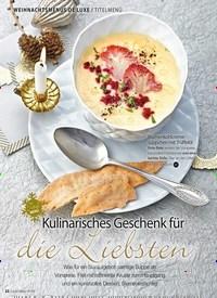 Titelbild der Ausgabe 13/2018 von WEIHNACHTSMENÜS DE LUXE / TITELMENÜ: Kulinarisches Geschenk für die Liebsten. Zeitschriften als Abo oder epaper bei United Kiosk online kaufen.