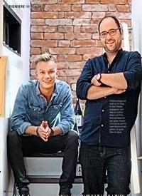 """Titelbild der Ausgabe 13/2018 von PIONIERE IM PORTRÄT: NEUE SERIE: Porträt DYTRICH & WENTZEL: """"Wir machen WEIN zu WASSER"""". Zeitschriften als Abo oder epaper bei United Kiosk online kaufen."""
