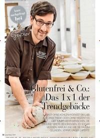 Titelbild der Ausgabe 1/2019 von Glutenfrei & Co.: Das 1 x 1 der Trendgebäcke. Zeitschriften als Abo oder epaper bei United Kiosk online kaufen.