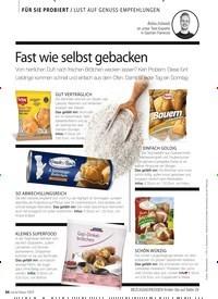 Titelbild der Ausgabe 1/2019 von FÜR SIE PROBIERT / LUST AUF GENUSS-EMPFEHLUNGEN: Fast wie selbst gebacken. Zeitschriften als Abo oder epaper bei United Kiosk online kaufen.