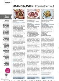 Titelbild der Ausgabe 6/2019 von REZEPTE: SKANDINAVIEN: Konzentriert auf das Wesentliche – den Geschmack. Zeitschriften als Abo oder epaper bei United Kiosk online kaufen.