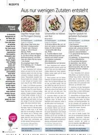 Titelbild der Ausgabe 6/2019 von REZEPTE: Aus nur wenigen Zutaten entsteht pure RAFFINESSE. Zeitschriften als Abo oder epaper bei United Kiosk online kaufen.
