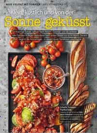 Titelbild der Ausgabe 7/2019 von NEUE VIELFALT MIT TOMATEN: KIRSCHTOMATEN & CO.: Klein, köstlich und von der Sonne geküsst. Zeitschriften als Abo oder epaper bei United Kiosk online kaufen.