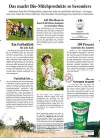 Titelbild der Ausgabe 7/2019 von Das macht Bio-Milchprodukte so besonders. Zeitschriften als Abo oder epaper bei United Kiosk online kaufen.
