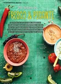 Titelbild der Ausgabe 8/2019 von KUNTERBUNTES MEXIKO / SALSAS: Wir lieben es FRESCO & PICANTE. Zeitschriften als Abo oder epaper bei United Kiosk online kaufen.