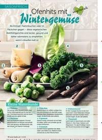 Titelbild der Ausgabe 13/2018 von SAISONFRISCH: Ofenhits mit Wintergemüse. Zeitschriften als Abo oder epaper bei United Kiosk online kaufen.