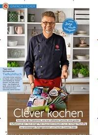 Titelbild der Ausgabe 13/2018 von EINFACH LECKER: Clever kochen. Zeitschriften als Abo oder epaper bei United Kiosk online kaufen.