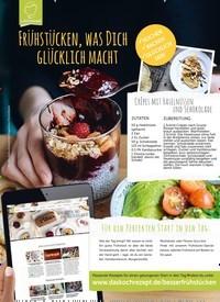 Titelbild der Ausgabe 1/2019 von Frühstücken, was Dich glücklich macht. Zeitschriften als Abo oder epaper bei United Kiosk online kaufen.