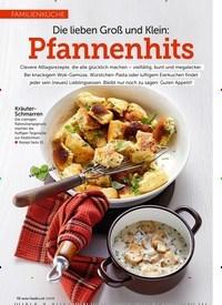 Titelbild der Ausgabe 3/2019 von FAMILIENKÜCHE: Die lieben Groß und Klein: Pfannenhits. Zeitschriften als Abo oder epaper bei United Kiosk online kaufen.