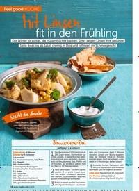 Titelbild der Ausgabe 4/2019 von Feel good -Küche: Mit Linsen fit in den Frühling. Zeitschriften als Abo oder epaper bei United Kiosk online kaufen.