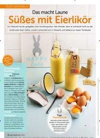 Titelbild der Ausgabe 4/2019 von ZUM SAMMELN: Das macht Laune Süßes mit Eierlikör. Zeitschriften als Abo oder epaper bei United Kiosk online kaufen.